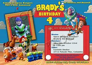 free personalized toy story birthday invitations template With toy story invites templates free