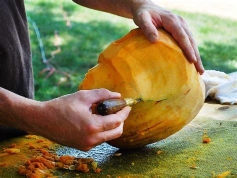 halloween pumpkin carving skull jack  lantern  tos