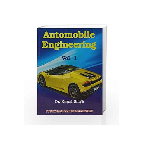 kirpal singh automobile engineering vol