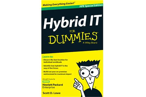 For Dummies by Hybrid It For Dummies Hpe