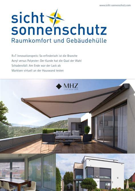 Textiler Sicht Und Sonnenschutz Zum Kleben by Sicht Sonnenschutz Das Fachmagazin F 252 R Raumkomfort