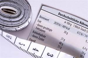 Energiewert Berechnen : kalorientabellen ein blick lohnt sich vitafy ~ Themetempest.com Abrechnung