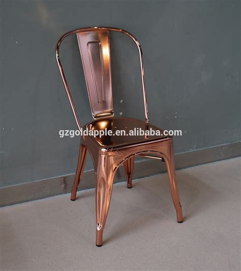 wholesale cheap steel industrial gold chair luxury metal dining chair buy dining chairvintage