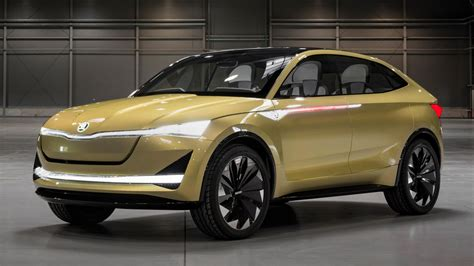 Skoda Vision E Concept 2017 Wallpapers  Hd Wallpapers