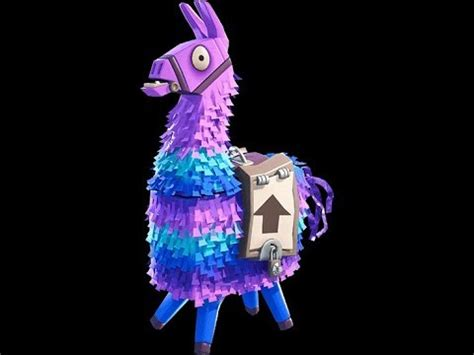 fortnite llama pinata filled  loot youtube