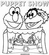 Theater Coloring Puppet Pages Puppets Master Pet Colorings Template Building Popular Pup Worlds sketch template