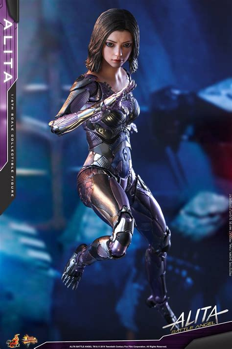 alita battle angel hot toys collectible figure coming