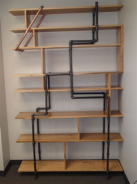 3 Foot Wide Bookshelf by Office Bookshelf Made Of 12 Quot Poplar Boards And 3 4 Quot Black