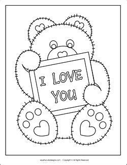 Valentine's Day Coloring Pages Printable