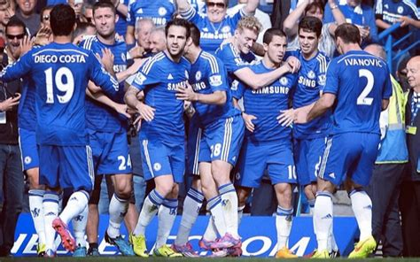 (Image) Chelsea's Cesc Fabregas Celebrates With New Trophy ...