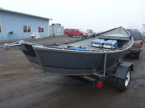 Drift Boats For Sale Eugene Oregon by Rear View Of Used Drift Boat For Sale Koffler Boats