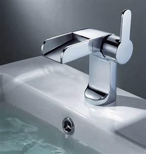 Robinet Lavabo Cascade : mitigeur lavabo cascade fontaine elio robinetterie as ~ Edinachiropracticcenter.com Idées de Décoration