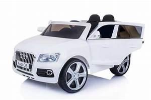 Voiture Electrique Bebe Audi : 12 volts voiture audi q5 4x4 electrique telecommande 2 ~ Dallasstarsshop.com Idées de Décoration