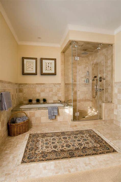 si e de bain le carrelage beige pour salle de bain 54 photos de