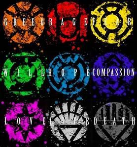 Lantern Corp Symbols Fine Art Print | DC | Pinterest ...