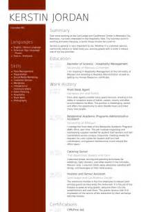 front desk agent resume sles visualcv resume sles