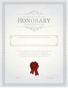 27 printable award certificates achievement merit honor With honorary member certificate template