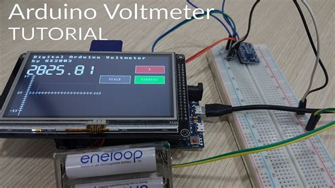 Arduino Voltmeter Tutorial Projects Youtube