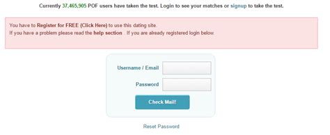 How To Login At Plenty Of Fish