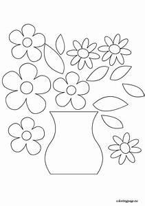 Cowboy Applique Designs Flower Vase Template Vase Crafts Flower Printable