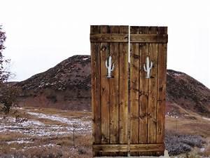 Saloon doors cafe doors wooden gate western home decor