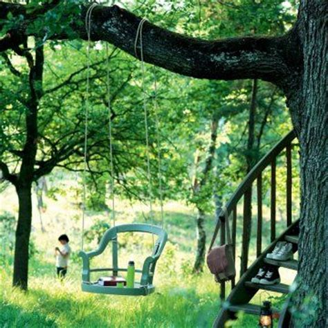 chaise balancoire 170 best wooden swings images on