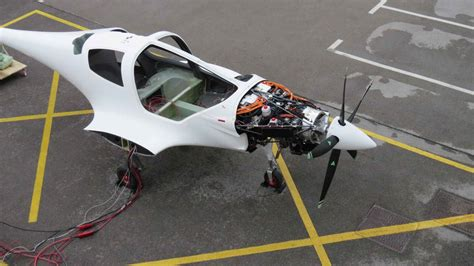 Aircraft Electric Motors by Hybrid Electric Aircraft Motor Powers Up New Hybrid