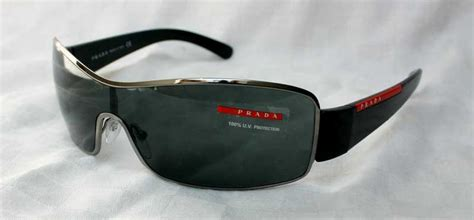 prada sport herren mod 53ns sole rechteckig sonnenbrille 5av3m1 tojwe de