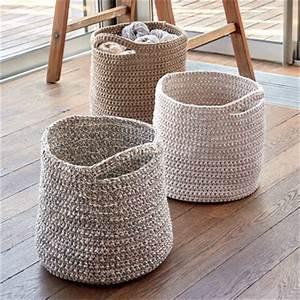 Corbeille Au Crochet : sp cial crochet mod les gratuits corbeilles sac et panier niche crocheter explications ~ Preciouscoupons.com Idées de Décoration