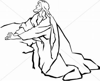 Garden Gethsemane Lds Clipart Jesus Svg