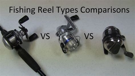 fishing reel type spinning  baitcasting