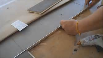 how to install metal transition between hardwood flooring and tile mryoucandoityourself