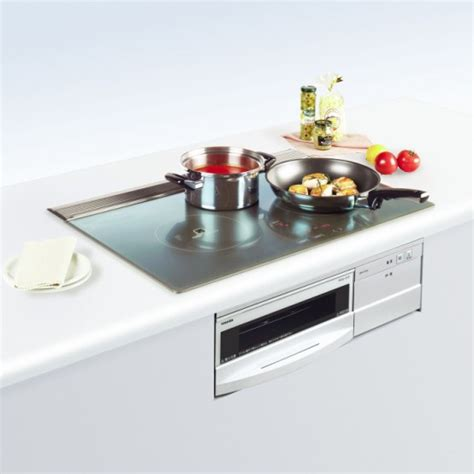 toshiba introduces built stove grill ih series