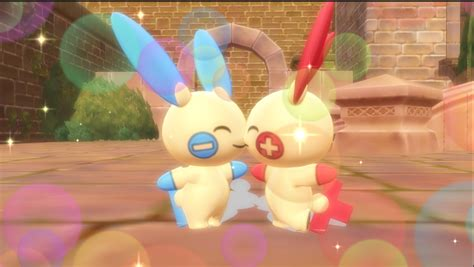 Electric Love Plusle X Minun By Hack-girl On Deviantart