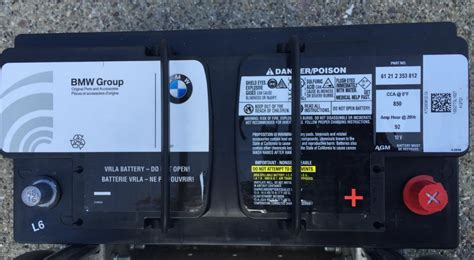 Bmw X5 Battery Cost by E70 Battery Replacement Diy Page 10 Xoutpost