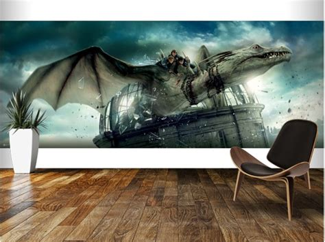 harry potter wall murals digital wallpaper exclusively