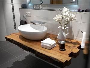 Waschbecken Mit Holzplatte : charmant waschbecken bad ~ Michelbontemps.com Haus und Dekorationen