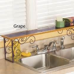 above kitchen sink shelf colorblock the sink shelf from ginny s ji62687 3968