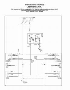1997 Jeep Grand Cherokee System Wiring Diagram Heated Seats Circuit