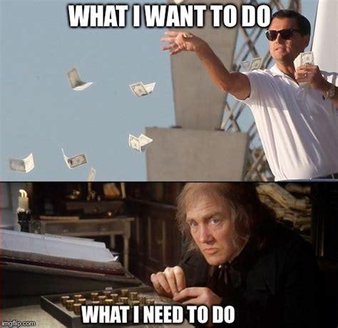 Money Meme - scrooge imgflip