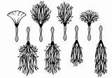 Duster Vector Feather Clipart Getdrawings Edit sketch template