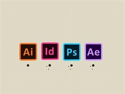 Adobe Icons Cc Illustrator Animation Logos Dribbble