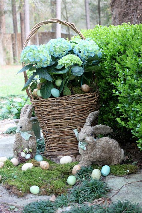 Osterdeko Garten  40 Interessante Gartenideen Für Die