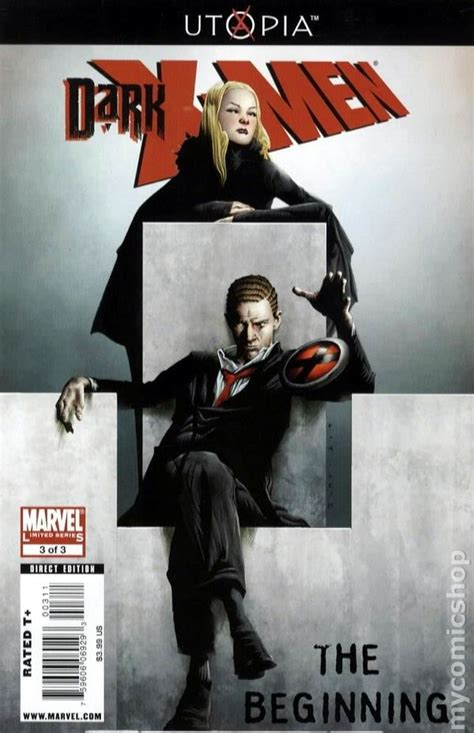 2009 dark beginning removes aurora bra marvel comic books oct