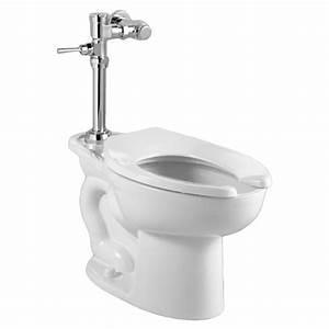 Madera Ada Everclean Toilet With Exposed Manual Flush Valve System