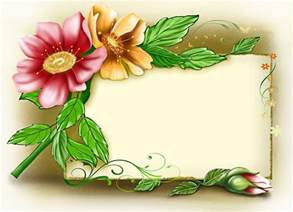 ornaments to personalize background with flowers frαмєs flowers