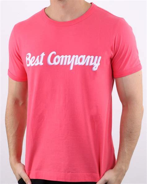 Best Company Logo T-shirt Red | 80s Casual Classics