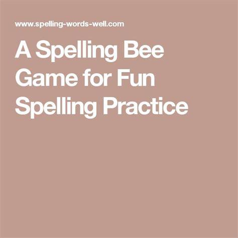 Best 25+ Spelling Bee Games Ideas On Pinterest Spelling