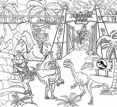 Jurassic Coloring Park Activity Pages Take Child
