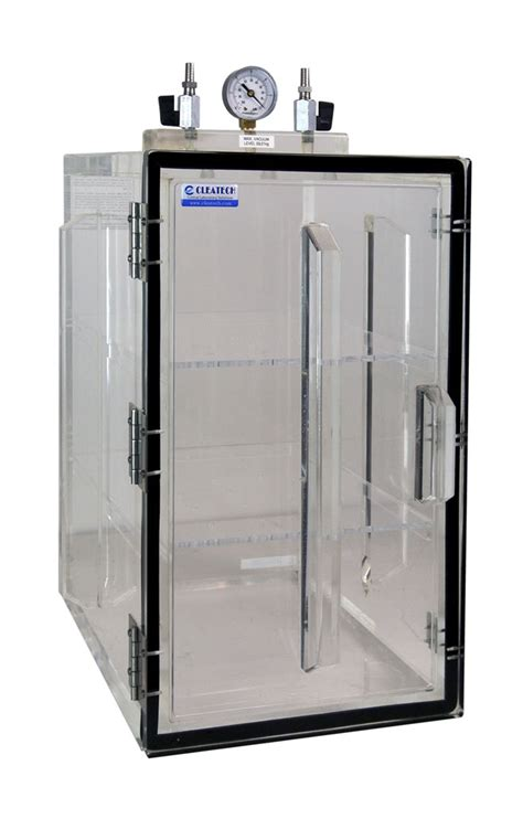 desiccator cabinet for vacuum desiccator front access door by cleatech solutions